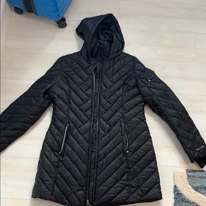 Black Nautical winter coat